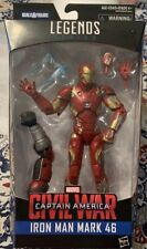 Marvel legends Iron Man Mark 46 Civil War Any Man Build A Figure MCU Figure