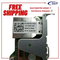 Dell 02827M IDRAC 7 Hardware Adapter