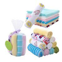 Boy Girl 8pcs Little baby handkerchief Soft Baby Kids Bath Towel Washcloth