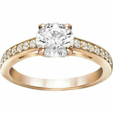 Attract Crystal Rose Gold Ring Size 7 EUR 55 2015 Swarovski Jewelry 5149218