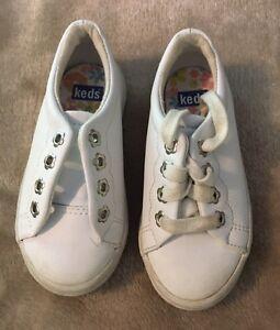 Keds Gym Shoes Girls Size 7 White