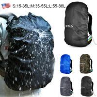 Waterproof Dust Rain Cover Travel Hiking Backpack Camping Rucksack Bag US Stock