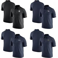 NFL Coaches Elite Sideline Nike Dri-Fit Golf Polo Shirt You Pick Team & Size $85