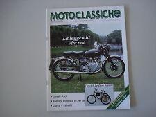 -- MOTOCLASSICHE 11/1989 TRICICLI DE DION BOUTON/GARELLI 350/GILERA 500/VINCENT