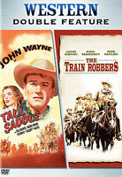 NEW !! The Train Robbers & Tall in the Saddle (DVD, 2006, 2-Disc Set) John Wayne
