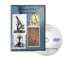 Microscope History 51 Historic Books / Journals / Catalogs on DVD - C691