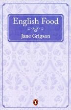 English Food Jane Grigson Penguin Paperback 1993 Classic Cookery Book
