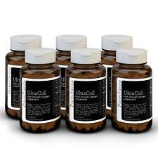 ULTRACOLL 1000mg- 18 meses de cápsulas de colágeno marino anti-envejecimiento