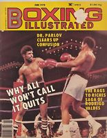 JUNE 1978 BOXING ILLUSTRATED vintage boxing magazine MUHAMMID ALI