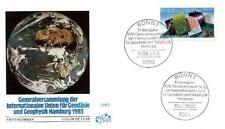 Germany 1983 FDC 1187 Geodezja Geodesy Cartography