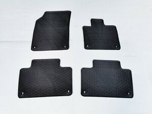 Rugged Rubber Floor Mats Tailored Made for Volvo XC90 2015-21 Odouless