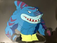 "Rare Street Sharks Original Production Animation CelBobby ""STREEX"" Bolton"