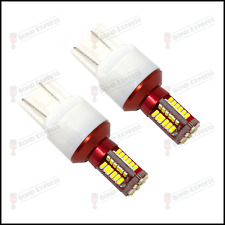 2 × T20 7443 580 582 LED Sidelight Bulbs DRL Vauxhall Insignia -UK Fast Post