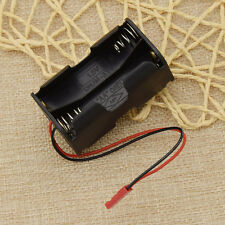 RC Car 6V Battery Box JST Connector Receiver Parts 4 x AA Pack Holder Case