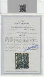 """Deutsches Reich (DR) Michel-Nr. Dienst 19 b gestempelt/o, mit Fotoattest """"Bechto"""