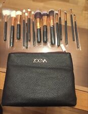 New 16 piece Professional make up brush set. Brown and Rose gold. Full size.