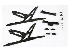 Xtreme Blade 130X Carbon Landing Skid Set Black B130X11