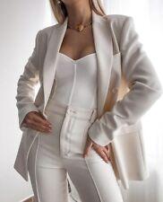ZARA White Knit Bodysuit Size Small