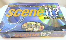 New Sealed Scene It! The Premiere Movie Trivia DVD Board Game With Real Clips