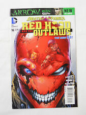 DC Comics Red Hood and the Outlaws #16 (2013)-Death of the Family