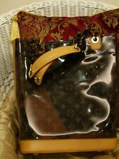 AUTHENTIC LOUIS VUITTON MONOGRAM VINYL AMBRE AMBER SAC CABAS TOTE BAG MM PURSE