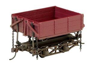 Bachmann-Wood Side-Dump Car 3-Pack - Ready to Run - Spectrum(R) -- Painted, Unle