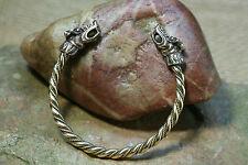 Viking Bracelet moleté Bronze Poisson scorpion 26g Viking bracelet Femme