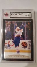 Brett Hull 2011-12 UD Canvas Retired Stars KSA Graded 10!!