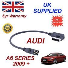 AUDI A6 SERIE 4F0051510AB MP3 MEMORY STICK USB Cavo AMI MMI Genuine Audi