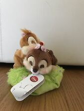 US Seller! Disney Store Japan Spring Forest Chip & Dale Plush Doll