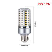 E27 LED Ampoule LED Lampe à maïs 5W 10W 15W 20W 25W 5736 SMD ES SES NOUVEAU