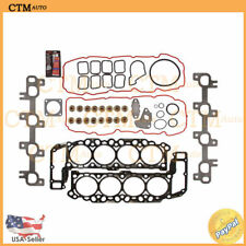 Head Gasket Set Kit Manifold Fix For 99-03 Dodge Jeep 4.7L V8 VIN Codes N J MLS