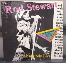 """Rod Stewart Absolutely Live  (2) 12"""" LPs Warner  German Press 1982 Near Mint"""