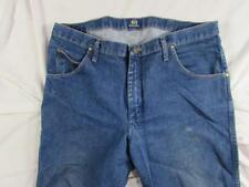 Wrangler 47MWZPW Faded Denim Jeans Tag 38x30 Measure 38x30 Cowboy