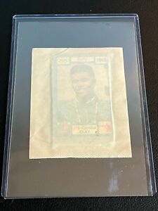 1971 Panini Unopend Pack CASSIUS CLAY #208 showing!