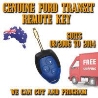 Ford Transit WM VM Remote Key - GENUINE - 2006/2014 - Brand New Genuine Complete