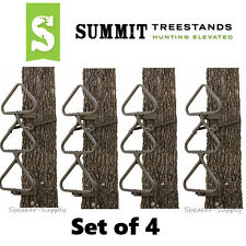 Summit Swift Steps Hang-On 4 Pack 3-Cleated Step Sections Tree Climbing SU82090