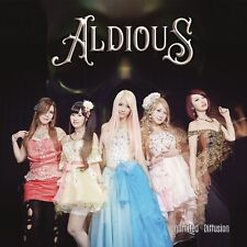 Aldious Unlimited Diffusion Japanese CD New Shipping w/Tracking Number From JPN