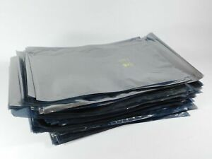 4 mil Anti-Static Poly Bags Pink Flat Hard Drives Electronics Parts 12x12 18x20