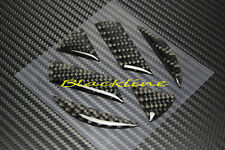 For VW Golf MK5 MK6 R GTi Passat Eos Carbon Fiber Trunk Lid Emblem Decal Insert