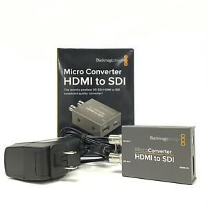 Blackmagic Design CONVBDC Micro Converter HDMI to SDI w/ Power Supply Japan [TG]