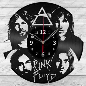 Vinyl Clock Pink Floyd  Vinyl Record Wall Clock Home Decor Handmade 445i