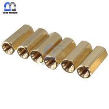 10Pcs M3 12 mm Hexagonal net nut Female brass Standoff/Spacer GM