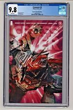 Crossover #5 John Giang Transformers Trade Variant CGC 9.8