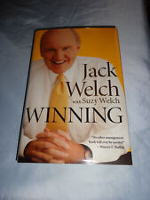 Winning Chairman General Electric Jack Welch SIGNED 1st/1st 2005 Hardcover New!