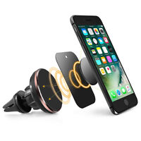 360 Stand Universal Cell Phone Pad GPS Air Vent Magnetic Car Mount Cradle Holder