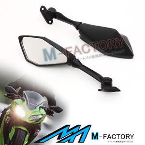 Black Aftermarket Side Mirrors For Kawasaki Ninja 300R 13-16 14 15 16