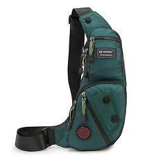 Nicgid Sling Bag Chest Shoulder Backpack Fanny Pack Crossbody Bags for Men(Dark