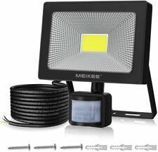Security Light Motion Sensor 50W Outdoor Led Floodlight Pir Outside Super Bright