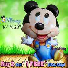 1ct Mickey Minnie Mouse Baby Shower 1st First Birthday Newborn Girl Boy Great!